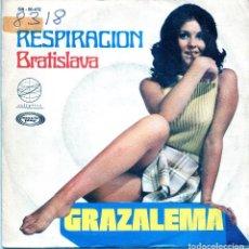 Discos de vinil: GRAZALEMA / RESPIRACION (VII FESTIVAL DE MALLORCA '70) / BRATISLAVA (SINGLE 1970). Lote 138932890