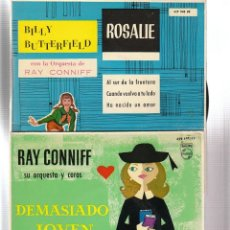 Discos de vinilo: RAY CONNIFF: 4 EPS ESPAÑOLES EN OFERTA- MUY EXCELENTE ESTADO. Lote 138940066