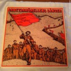 Disques de vinyle: ARBETARRÖRELSENS SÅNGER DOBLE LP (CANCIONES MOVIMIENTO OBRERO). Lote 138949737
