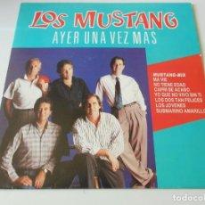 Discos de vinilo: MUSTANG, SG, MUSTANG - MIX + 1, AÑO 1991 PROMO. Lote 138957138