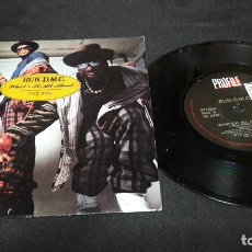 Discos de vinilo: RUN DMC WHAT´S IT ALL ABOUT UK BUEN ESTADO . Lote 138960882