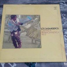 Discos de vinilo: LOS SABANDEÑOS – LOS SABANDEÑOS CANTAN A HISPANOAMÉRICA VOL. 2 - COLUMBIA – CPS 9244 - 1973. Lote 138965454