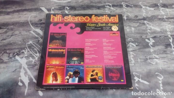 Discos de vinilo: Various – Hifi-Stereo-Festival - Happy South-America - Polydor – 2418 008 - 1970 - Foto 2 - 138966162