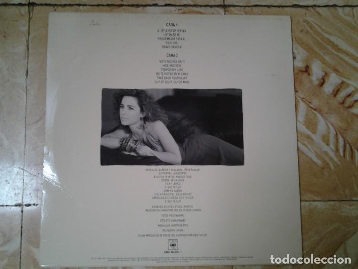 Discos de vinilo: VICKY LARRAZ -SIETE NOCHES SIN TI- LP CBS 1980 460516 EN MUY BUENAS CONDICIONES. - Foto 4 - 138966358