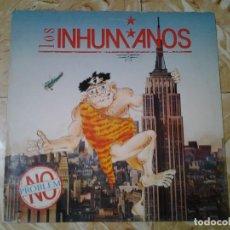 Discos de vinilo: LOS INHUMANOS -NO PROBLEM- LP ZAFIRO 1990 30312470 EN MUY BUENAS CONDICIONES.. Lote 138966982