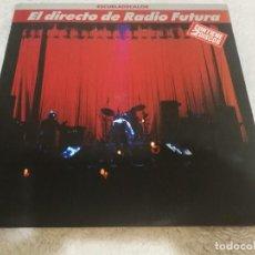 Discos de vinilo: RADIO FUTURA_ESCUELA DE CALOR (EL DIRECTO DE RADIO FUTURA) - VINILO DOBLE LP 12'' ARIOLA 1989. Lote 138967478