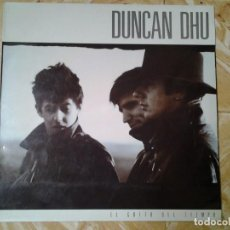 Discos de vinilo: DUNCAN DHU -EL GRITO DEL TIEMPO- LP GRABACIONES ACCIDENTALES 1987 GA 177 MUY BUENAS CONDICIONES.. Lote 138967490