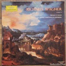 Discos de vinilo: WAGNER, TRISTAN ET ISOLDE, LES MAITRES CHANTEURS DE NUREMBERG. R. KUBELIK. D. GRAMOPHONE.. Lote 138984190