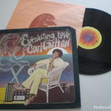 Discos de vinilo: CARL CARLTON - EVERLASTING LOVE - LP USA ABC 1974 // COOL 70S SOUL MODERN SOUL. Lote 138997574