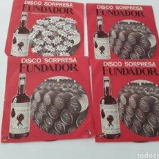 Discos de vinilo: DISCOS SORPRESA FUNDADOR. Lote 139002680
