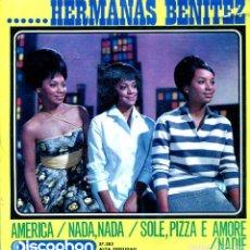 Disques de vinyle: HERMANAS BENITEZ / AMERICA + 3 (EP 1964). Lote 139012526