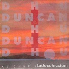 Discos de vinilo: DUNCAN DHU - AL CAER LA NOCHE - MAXI-SINGLE SPAIN 1988. Lote 139014406