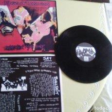 Discos de vinilo: MARAVILLOSO LP.PUNK ORIGINAL. KINGS OF OBLIVION.WASTER MACHINE. MADE IN ENGLAND.. Lote 138888742