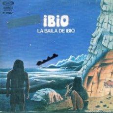 Discos de vinilo: IBIO / LA BAILA DE IBIO (1ª Y 2ª PARTE) SINGLE PROMO 1978). Lote 139018086