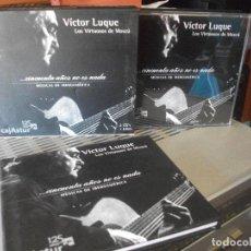 Discos de vinilo: VICTOR LUQUE - LOS VIRTUOSOS DE MOSCÚ ... CINCUENTA AÑOS NO ES NADA 2 CD + LIBRO. Lote 139027254