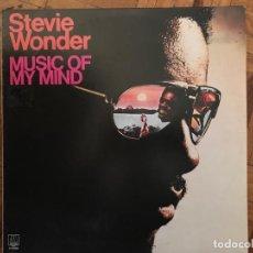 Discos de vinilo: STEVIE WONDER ?– MUSIC OF MY MIND SELLO: MOTOWN ?– 2-47.088 FORMATO: VINYL, LP, ALBUM, REISSUE . Lote 139040038