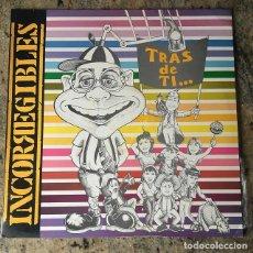 Discos de vinilo: INCORREGIBLES - TRÁS DE TI . LP . 1992 PSM RECORDS - COMO NUEVO . Lote 139044350
