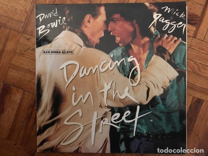 DAVID BOWIE AND MICK JAGGER ?– DANCING IN THE STREET SELLO: EMI AMERICA ?– 052-2007886, EMI AMERICA (Música - Discos de Vinilo - Maxi Singles - Rock & Roll)