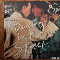 Discos de vinilo: DAVID BOWIE AND MICK JAGGER ?– DANCING IN THE STREET SELLO: EMI AMERICA ?– 052-2007886, EMI AMERICA . Lote 139044374