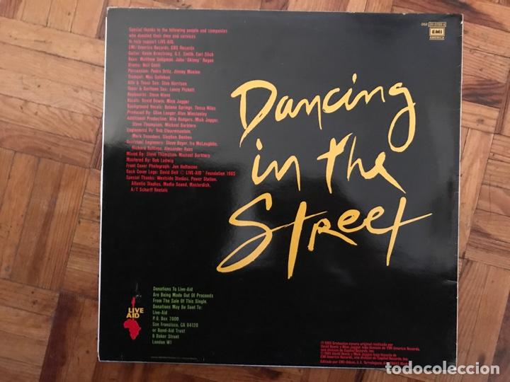 Discos de vinilo: David Bowie And Mick Jagger ?– Dancing In The Street Sello: EMI America ?– 052-2007886, EMI America - Foto 2 - 139044374