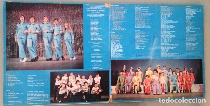 Discos de vinilo: LA PANDILLA VA A EL TEATRO / LP PORTADA ABIERTA / MOVIE PLAY 1972 - Foto 3 - 139048226