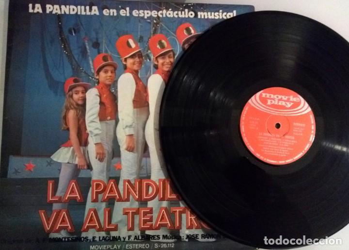 Discos de vinilo: LA PANDILLA VA A EL TEATRO / LP PORTADA ABIERTA / MOVIE PLAY 1972 - Foto 4 - 139048226