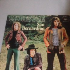 Discos de vinilo: CHRISTIE - SAN BERNARDINO / HERE I AM (SINGLE ESPAÑOL, CBS 1970). Lote 139048396