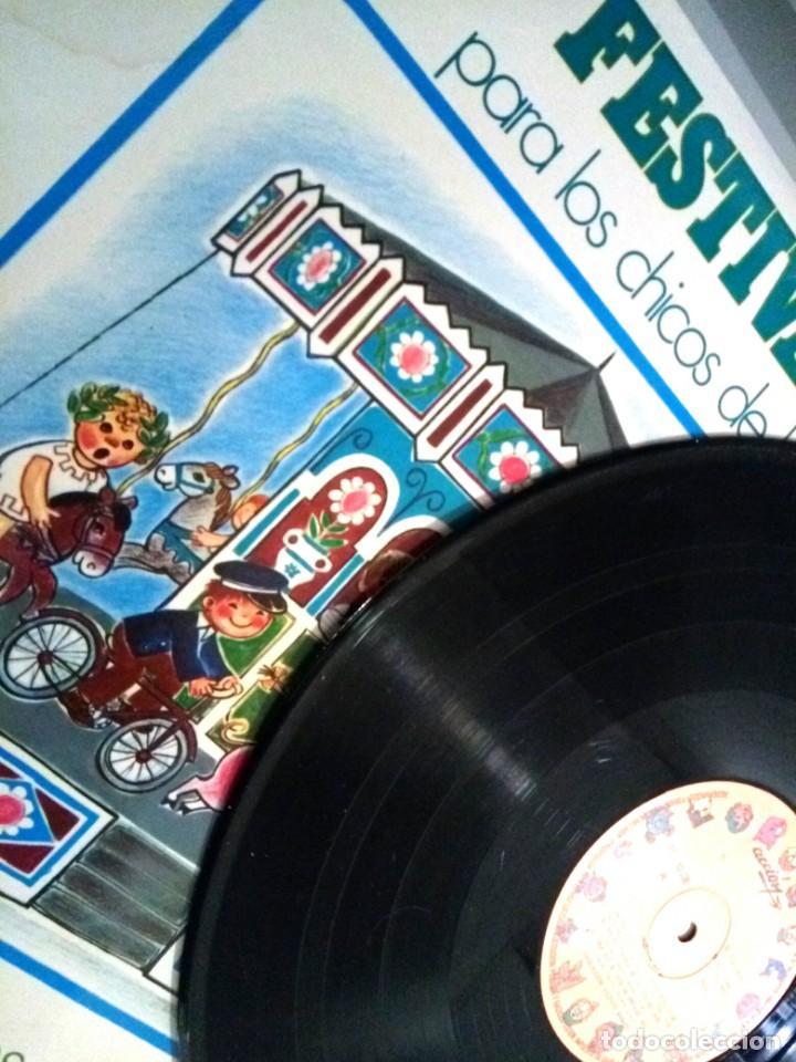 Discos de vinilo: FESTIVAL PARA LOS CHICOS DE HOY Nº 6 / LP / ESPAÑA 1972 - Foto 3 - 139049546