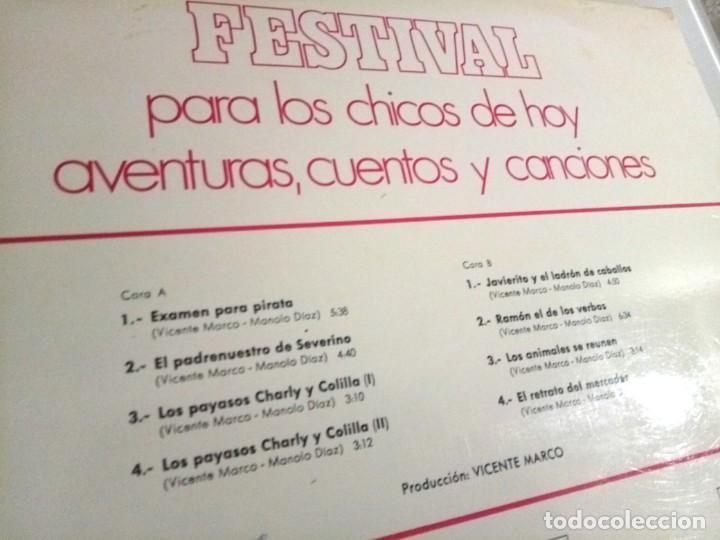 Discos de vinilo: FESTIVAL PARA LOS CHICOS DE HOY Nº5 / LP / ESPAÑA 1972 - Foto 3 - 139050722