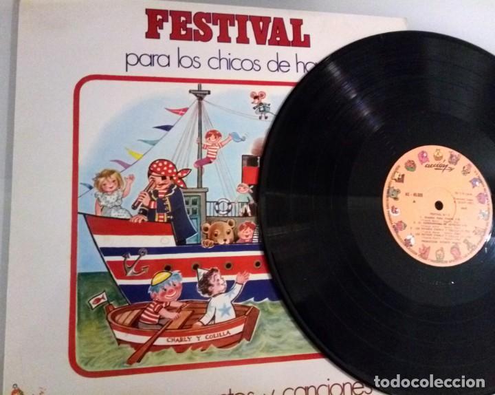 Discos de vinilo: FESTIVAL PARA LOS CHICOS DE HOY Nº5 / LP / ESPAÑA 1972 - Foto 4 - 139050722