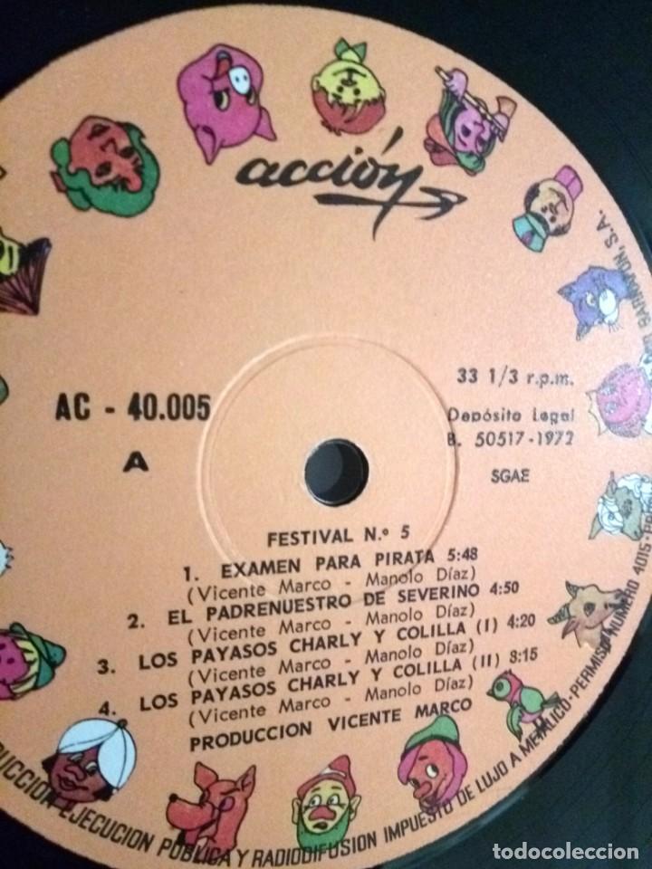 Discos de vinilo: FESTIVAL PARA LOS CHICOS DE HOY Nº5 / LP / ESPAÑA 1972 - Foto 5 - 139050722