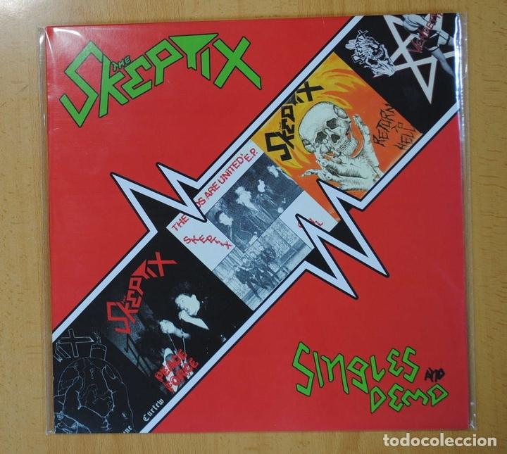 THE SKEPTIX - SINGLES AND DEMO - LP (Música - Discos - LP Vinilo - Punk - Hard Core)
