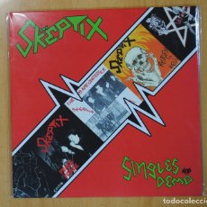 Discos de vinilo: THE SKEPTIX - SINGLES AND DEMO - LP. Lote 139055746