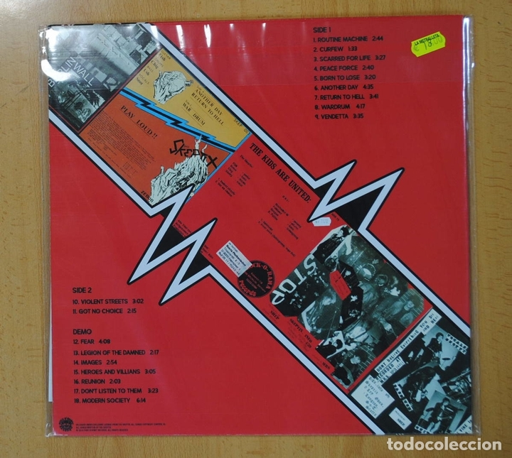 Discos de vinilo: THE SKEPTIX - SINGLES AND DEMO - LP - Foto 2 - 139055746