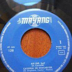 Discos de vinilo: LOS DIABLOS- ASÍ FUE +3- EP MAYANG 1967. Lote 139058706