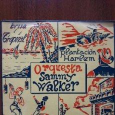 Discos de vinilo: ORQUESTA SAMMY WALKER- CAMINO DE ARIZONA +3- EP TOSCA BARNAFON 1970- PROMOCIONAL. Lote 139060154