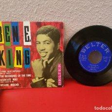 Discos de vinilo: ANTIGUO DISCO DE VINILO SINGLE BEN E. KING 1 I WHO HAVE NOTHING BELTER THE BEGINNING OF THE TIME . Lote 139063934