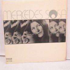 Discos de vinilo: MERCEDES SOSA. DISCOGRAFICA RCA. 1973. LP VINILO. VER FOTOGRAFIAS ADJUNTAS. Lote 139066394