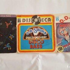 Discos de vinilo: D.D. SOUND / LOTE DE 3 SINGLES. Lote 139075666