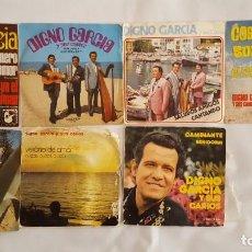 Discos de vinilo: SINGLE / DIGNO GARCIA / LOTE DE 7 SINGLES. Lote 139076810