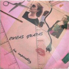 Discos de vinilo: LOS IMPECABLES / CHICAS GUAPAS / BAILE DE SOCIEDAD (SINGLE 1983). Lote 139076914