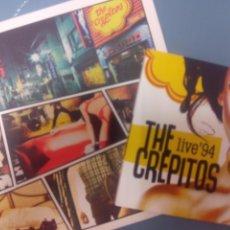 Discos de vinilo: THE CREPITOS - BAGDAD - PACK 25 ANIVERSARIO - SINGLE VINILO + CD - MOD COOPER FLECHAZOS NEGATIVOS. Lote 289453413