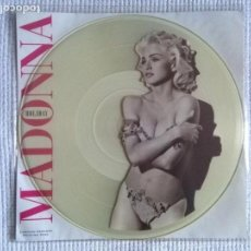 Discos de vinilo: MADONNA - '' HOLIDAY / TRUE BLUE '' MAXI SINGLE 12'' PICTURE DISC LIMITED EDITION 1991 UK. Lote 139085210