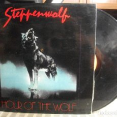 Discos de vinilo: STEPPENWOLF HOUR OF THE WOLF LP SPAIN 1975 PDELUXE. Lote 139085974
