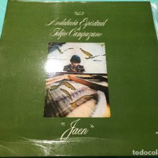 Discos de vinilo: FELIPE CAMPUZANO - ANDALUCIA ESPIRITUAL VOL. 3 - JAÉN LP. Lote 139092426