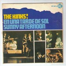 Discos de vinilo: THE KINKS: EP ESPAÑOL -MUY BIEN- HISPAVOX 1966. Lote 139094642