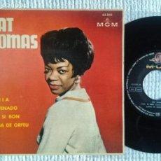 Discos de vinilo: PAT THOMAS - '' BAHIA + 3 '' EP 7'' SPAIN 1963. Lote 139095014