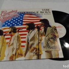Discos de vinilo: COUNTRY WESTERN THE OAKRIDGE BOYS. LP . GERMANY. Lote 139096554