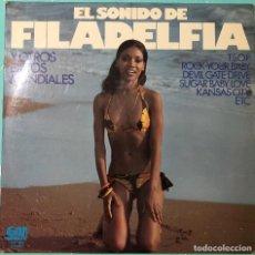 Discos de vinilo: VARIOS - EL SONIDO DE FILADELFIA Y OTROS EXITOS MUNDIALES LP. Lote 139103638