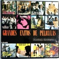 Discos de vinilo: GRANDES EXITOS DE PELICULAS - PALOBAL ORQUESTAL Nº4 / LP.1074 . Lote 139113838